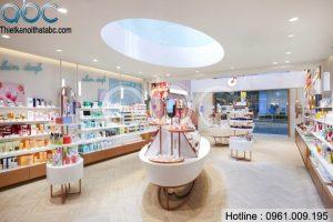 Thiết kế Shop Mỹ Phẩm Thanh Trần Cosmetics