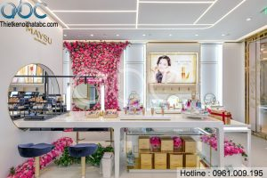 Thiết kế Shop Mỹ Phẩm MAYSU Chị Gyeong Hàn Quốc