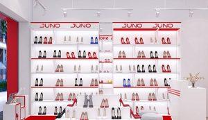 Cách trang trí shop giày dép đẹp để hút khách