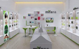 Thiết kế Shop Mỹ Phẩm Mifana – Nhỏ mà đẹp tinh tế