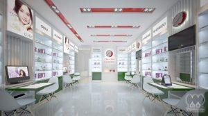 Thiết kế Shop Mỹ Phẩm Thủy Tiên Cosmetics
