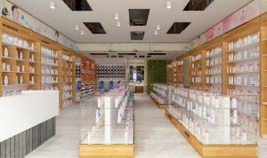 Thiết kế Shop Mỹ Phẩm Tiến Lan Cosmetics