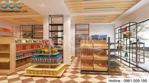 Thiết kế cửa hàng tiện ích phong cách hiện đại đẹp lạ