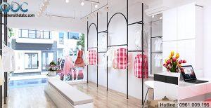 Thiết kế Shop Thời Trang Nữ ZONE đơn giản, sang trọng
