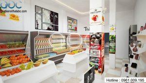 Thiết kế Shop Hoa Quả Sạch Thảo Ngân tại Ba Đình – Hà Nội