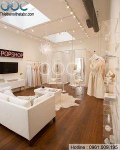 Thiết kế Showroom Áo Cưới đẹp tại Hai Bà Trưng, Hà Nội