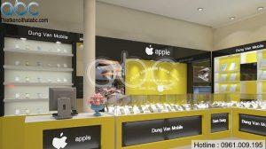 Thiết kế Shop Điện Thoại Dũng Văn tại Hà Đông – Hà Nội