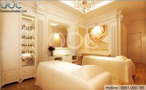 Thiết kế spa Hương Lan phong cách sang trọng