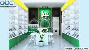 Thiết kế Shop Điện Thoại Cường Hiếu tại Hòa Bình