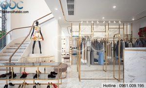 Thiết kế Shop Thời Trang, Phụ Kiện Nữ tại Quán Thánh