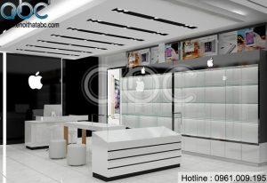 Thiết kế Shop Điện Thoại Apple Mobile tại Giáp Nhất, Thanh Xuân