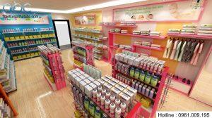 Thiết kế cửa hàng tự chọn đồ dùng trẻ em