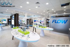 Thiết kế Shop Điện Thoại Flow – Anh Robert Quảng Ninh