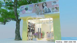 Thiết kế shop Mẹ & Bé Ngọc Minh đẹp lung linh