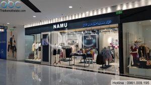 Thiết kế Shop Thời Trang NaMu tại TTTM Time City