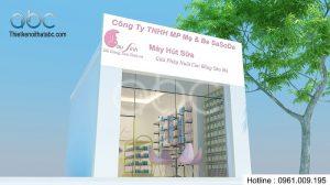 Thiết kế và thi công nội thất Shop Bé Soda