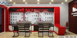 Thiết kế Shop Điện Thoại AVATelecom nhỏ đẹp
