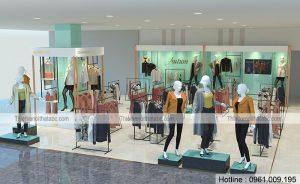 Thiết kế shop thời trang Charmilles AEON Mall Long Biên