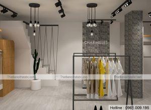 Thiết kế shop thời trang Charmilles tại Cầu Giấy, Hà Nội