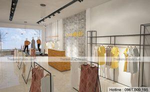 Thiết kế shop thời trang Charmilles tại Lê Hoàn, Thanh Hóa