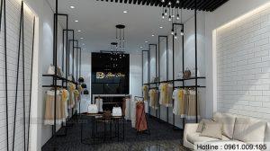 Thiết kế shop thời trang Heni Store tại T.P Sơn La