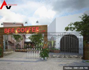 Thiết kế nhà hàng Bee Coffee tại Tp.Sơn La