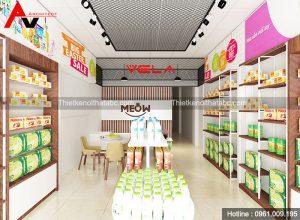 Thiết kế siêu thị tiện ích VELA tại La Phù, Hoài Đức, Hà Nội