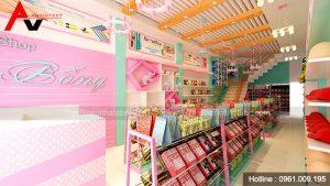 Thiết kế cửa hàng đồ lưu niệm, quà tặng tại Thái Nguyên