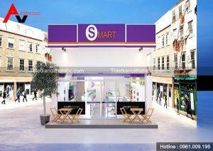 Thiết kế siêu thị mini Smart tại Bắc Ninh