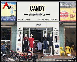 Thiết kế shop thời trang 30m2 tại Ngọc Thụy, Long Biên, Hà Nội