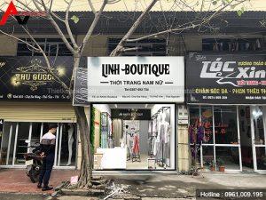 Thiết kế shop thời trang 30m2 tại Phổ Yên, Thái Nguyên