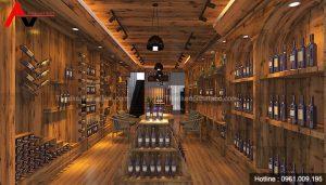 Thiết kế Showroom Rượu tại KĐT Văn Phú, Hà Đông, Hà Nội