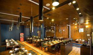 Mẫu thiết kế nhà hàng lẩu nướng không khói