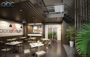 Thiết kế nhà hàng Time City- Anh Thiện