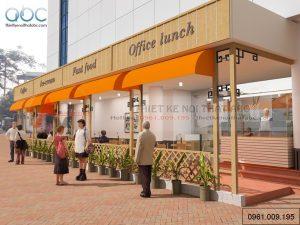 Thiết kế quán ăn nhanh Anh Mai- Hà Nội