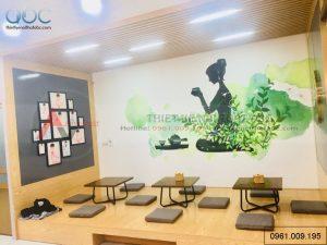 Thiết kế quán trà sữa Toco Toco Lĩnh Nam