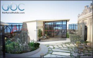 Thiết kế nội thất quán cafe sân vườn tại Quảng Ninh