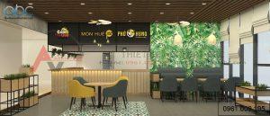 Sự quan trọng của thiết kế nội thất nhà hàng