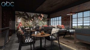Thiết kế nội thất quán cafe Milano Hải Phòng