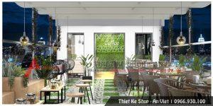 Thiết kế quán cafe tại Hòa Bình chuyên nghiệp, ấn tượng nhất hiện nay