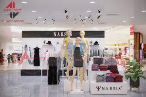 Thiết kế shop thời trang tại trung tâm thương mại