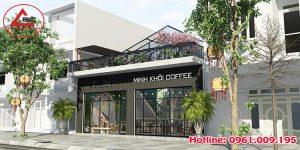 Thiết kế quán cà phê vừa đẹp vừa chất tại Ninh Bình