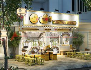 Thiết kếquán trà chanhchuyên nghiệp tại Hà Nội