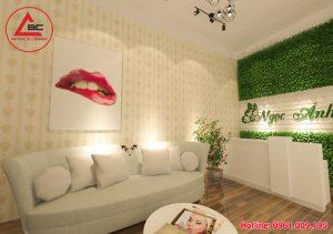Thiết kế spa mini nhỏ xinh làm đẹp tại Hà Nội