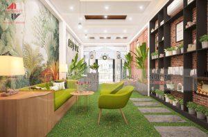 Mẫu thiết kế spa đẹp 180m2 tại Hà Nội