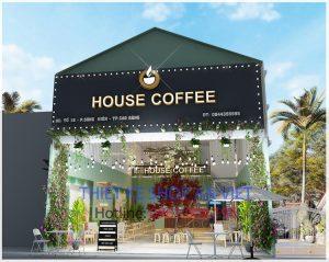 Thiết kế quán cafe cực đẹp tại Cao Bằng