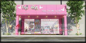 Thiết kế siêu thị mini 180m2 tại Hưng Yên